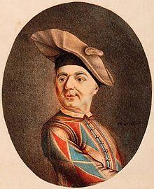Carlo Bertinazzi detto Carlin nel 1742