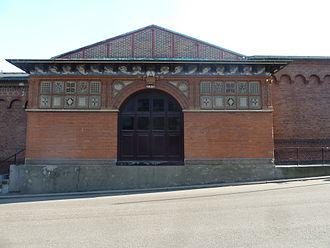 Carlsberg Museum - The main façade on Ny Carlsberg Vej