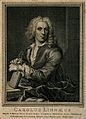 Carolus Linnaeus. Line engraving by P. Tanjé after Ehrensver Wellcome V0003593.jpg