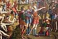 Carpaccio, crocifissione e apoteosi dei diecimila martiri del monte ararat, 1515, da s.antonio di castello 06.JPG