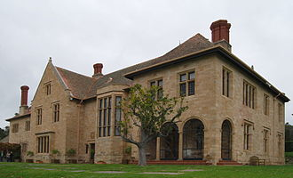 Carrick Hill - Carrick House, the main building on the Carrick Hill property