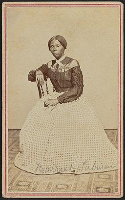 Carte-de-visite portrait of Harriet Tubman