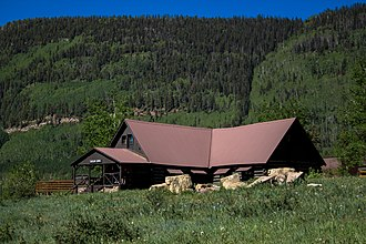 Cascade Boy Scout Camp - Image: Cascade lodge
