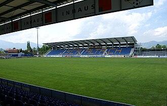Stadion Schnabelholz - Cashpoint Arena, Altach