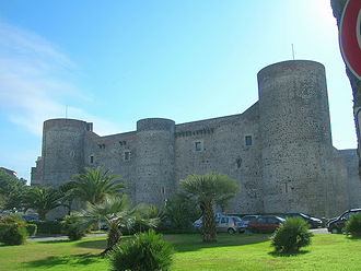 Castello Ursino - Image: Castello Ursino 1CT