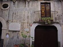 La casa natale di Bellini a Catania