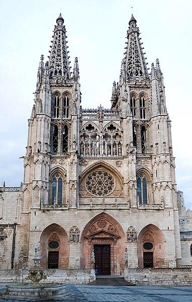 Бургосский собор – самый древний из испанских готических соборов