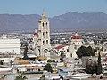 Catedral y Casino, Desde el mirador del callejón de Miraflores, Saltillo Coahuila - panoramio.jpg