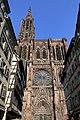 Cathédrale de Strasbourg, façade vue de la rue.jpg
