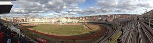 Cebeci İnönü Stadium - Image: Cebeci Inonu Stadyumu Panoramik