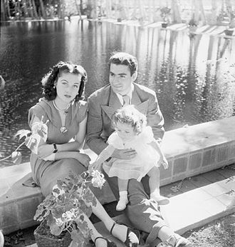 Cecil Beaton - Queen Fawzia Fuad Chirine with Shah Mohammed Reza Pahlevi and their daughter, Princess Shahnaz Pahlavi in Tehran during the Second World War. Photo by Cecil Beaton.