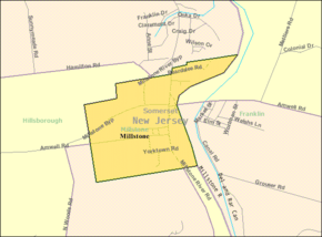 Census Bureau map of Millstone, New Jersey.png