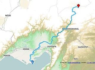 Ceyhan River river in Turkey