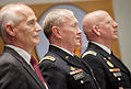 Chairman of the Joint Chiefs of Staff U.S. Army Gen. Martin E. Dempsey, center, attends a graduation ceremony June 13, 2013, at the National Defense University at Fort McNair, Washington, D.C. A total of 658 130613-A-HU462-183.jpg