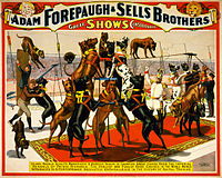 Champion great danes from the Imperial kennels, poster for Forepaugh and Sells Brothers, 1898.jpg