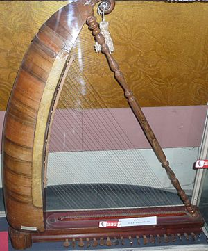 Chang (instrument) - Chang. Museum of musical instruments, Baku, Azerbaijan