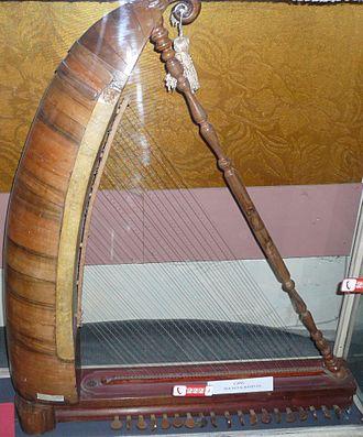 Chang (instrument) - Chang. Museum of musical instruments, Baku, Azerbaijan