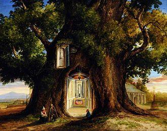 William Cowen - Chapel in the Oak by Cowen
