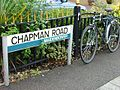 Chapman Road, Maidenbower - general pattern of street name signs in Crawley. - geograph.org.uk - 53809.jpg