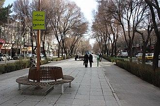 Chaharbagh, Isfahan - Image: Charbagh isfahan