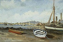 Charles Blomfield, Mechanics Bay Painting.jpg