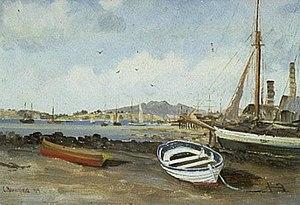 Charles Blomfield, Mechanics Bay Painting.jpg