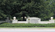 Charleston Southern University Sign, City of North Charleston.jpg