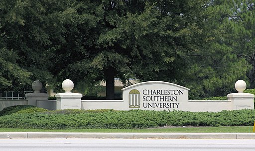 Charleston Southern University Sign, City of North Charleston