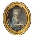 Charlotte de Montesson, 1738-1806, markisinna (Antoine Vestier) - Nationalmuseum - 25283.tif