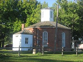 Charter Oak Schoolhouse Historic building in Illinois, US