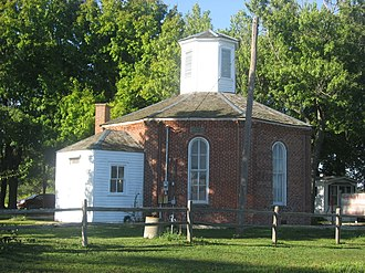 National Register of Historic Places listings in Randolph County, Illinois - Image: Charter Oak Schoolhouse
