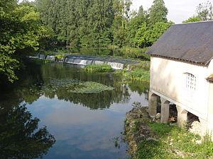Clain - The Clain rivers in Chasseneuil-du-Poitou