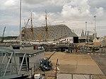 Chatham Dockyard und die dazugehörende Verteidigungsanlage