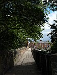 Chester City Walls - North Wall adjacent to City Walls Road west of junction with Inner Ring Road 01.jpg