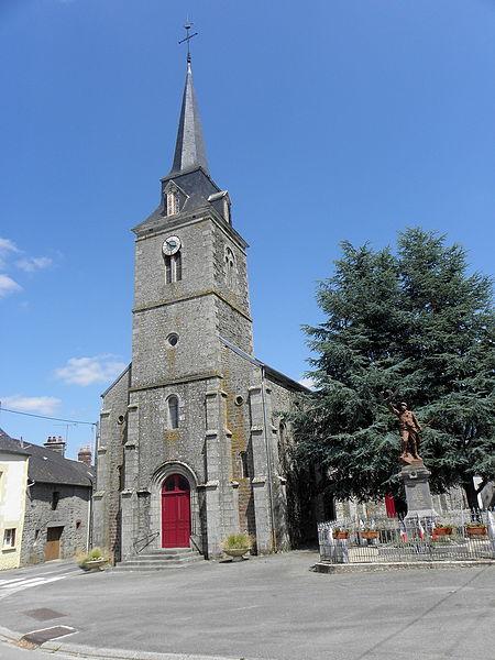 Église Saint-Martin de Chevaigné-du-Maine (53).