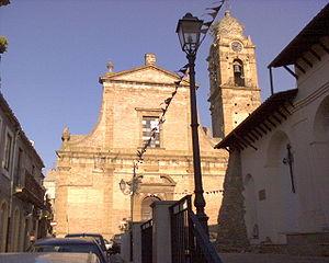 Barrafranca - Image: Chiesa Madre Barrafranca