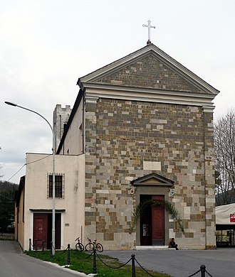 Filettole - The church of San Maurizio in Filettole