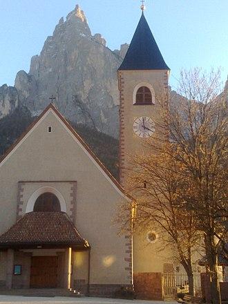 Seis am Schlern - The main church
