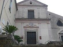 Chiesa di San Bartolomeo a Campagna, dove fra' Giordano celebrò la sua prima messa