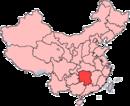 湖南向中國位置