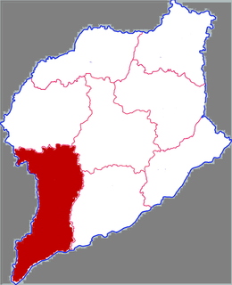 Shen County County in Shandong, Peoples Republic of China