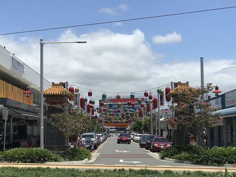 Chinatown in the Southport CBD