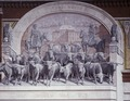 Chisholm Trail mural, located in Sundance Square, Fort Worth, Texas LCCN2011630465.tif