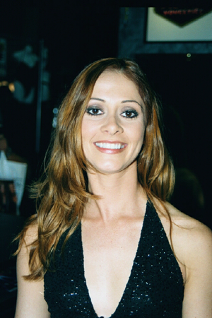 Chloe (actress) - Chloe at the CES 2002