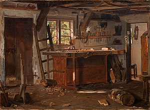 Christen Dalsgaard - Image: Christen Dalsgaard A carpenter's workshop. Google Art Project