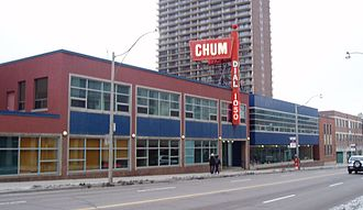CHUM (AM) - The Chum Radio Building at 1331 Yonge Street was the home of 1050 CHUM from 1959 until 2009