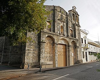 Church and Convent, Colonial Santo Domingo. Church and Convent Regina Angelorum CCSD 07 2018 0762.jpg