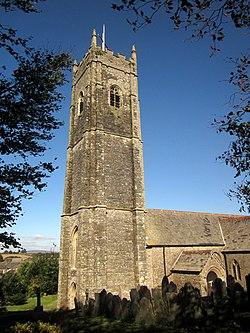 Church of St Michael, Landrake (geograph 3698887).jpg