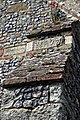 Church of St Nicholas, Ash-with-Westmarsh, Kent - south transept 1675 buttress and benefactor plaques.jpg