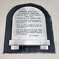 Church of the Holy Cross Great Ponton Lincolnshire England - George Bellany south aisle plaque.jpg